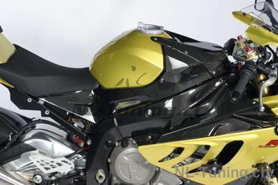 Carbon Ilmberger Seitendeckel am Tank Set BMW S 1000 RR