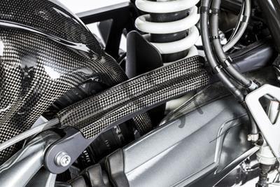 Carbon Ilmberger Bremsleitungsabdeckung BMW R NineT
