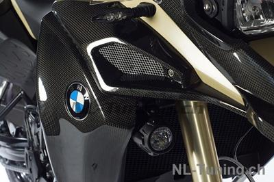 Carbon Ilmberger Wasserkühlerabdeckungen BMW F 800 GS Adventure