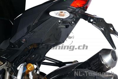 Carbon Ilmberger Rahmenheckabdeckung unten Ducati Streetfighter 1098