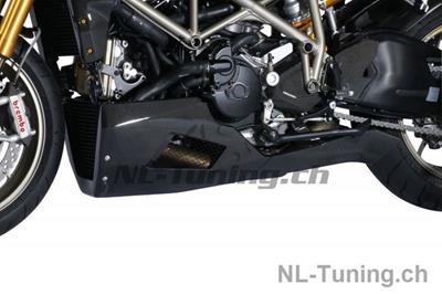 Carbon Ilmberger Fersenschutz links Ducati Streetfighter 1098