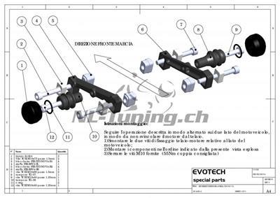Evotech Street Defender Kit Aprilia Tuono V4