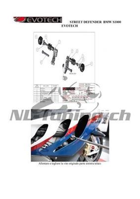 Evotech Street Defender Kit BMW S 1000 RR