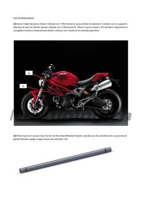 Evotech Street Defender Kit Ducati Monster 696