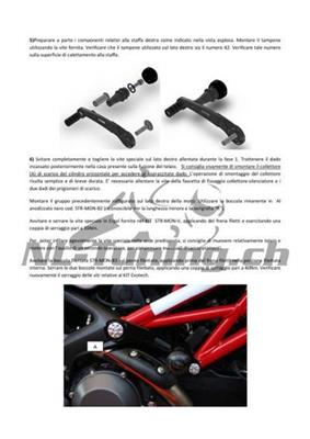 Evotech Street Defender Kit Ducati Monster 1100 Evo