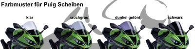 Puig Racingscheibe Kawasaki ZX-6R