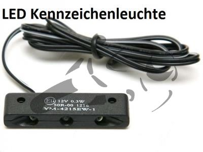 Kennzeichenhalter BMW S 1000 R