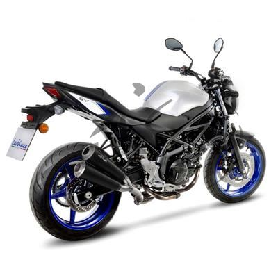 auspuff leo vince gp duals suzuki sv 650. Black Bedroom Furniture Sets. Home Design Ideas