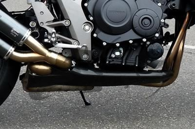Carbon-Unterteil rechts Honda CB 1000 R