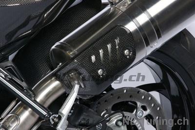 Carbon Ilmberger Auspuffhitzeschutz BMW F 800 R