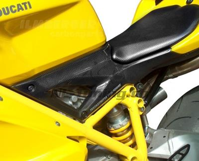 Carbon Ilmberger Airboxabdeckungen Set Ducati 848