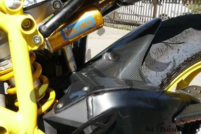 Carbon Ilmberger Kotflügel hinten lange Version Ducati 848