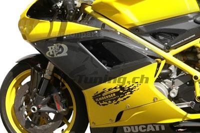 Carbon Ilmberger Seitenverkleidungen Set Ducati 848 EVO