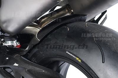 Carbon Ilmberger Hinterradabdeckung Triumph Speed Triple 1050