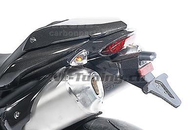 Carbon Ilmberger Kennzeichenhalter Triumph Speed Triple 1050