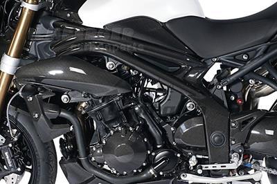 Carbon Ilmberger Rahmenabdeckung Set Triumph Speed Triple 1050