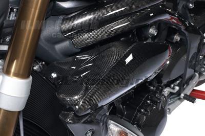 Carbon Ilmberger Wasserkühlerabdeckung Set Triumph Speed Triple 1050