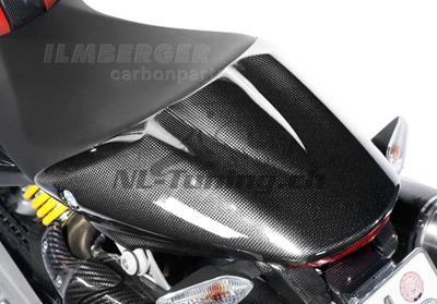 Carbon Ilmberger Sozius-Sitzabdeckung Ducati Monster 796
