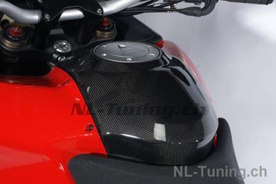 Carbon Ilmberger Tankabdeckung oben Ducati Multistrada 1200