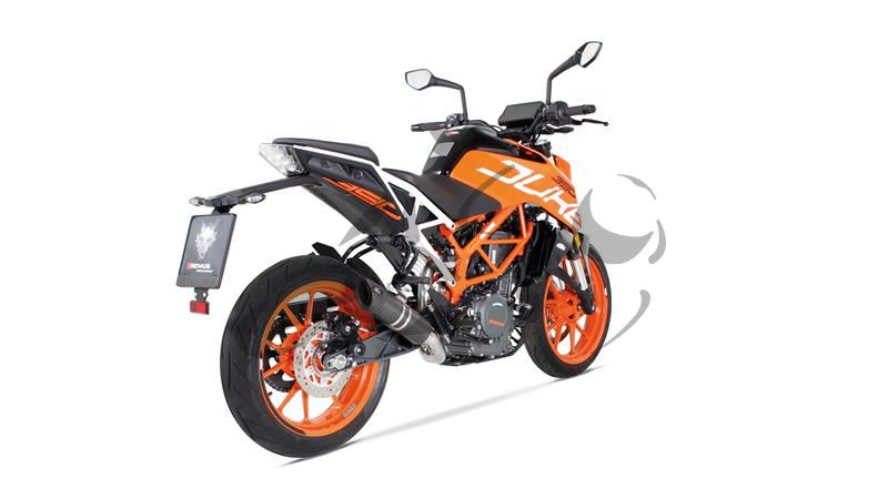 auspuff remus s flow racing ktm duke 390. Black Bedroom Furniture Sets. Home Design Ideas