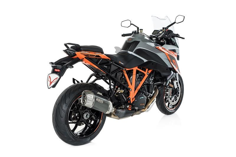 auspuff bos desert fox ktm super duke gt 1290. Black Bedroom Furniture Sets. Home Design Ideas