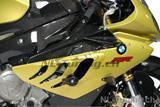 Carbon Ilmberger Verkleidung Seite oben / Plakettenträger Set BMW S 1000 RR