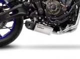Auspuff Leo Vince Underbody Komplettanlage Yamaha MT-07