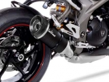 Auspuff Leo Vince Factory S Triumph Speed Triple 1050