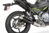 Auspuff Cobra Komplettanlage Hypershots Kawasaki Z 650