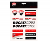 Ducati Corse Sticker Set Large
