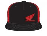 Honda Cap rot/schwarz