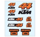 KTM Racing Pol Espargaro Sticker Set