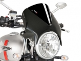 Puig Retro Scheibe carbonstyle Triumph Speed Twin