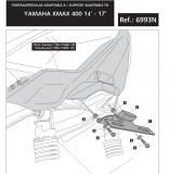 Puig Kennzeichenhalter Yamaha X-Max 250