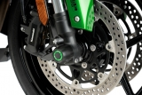 Puig Achsenschutz Vorderrad Kawasaki Ninja Z H2