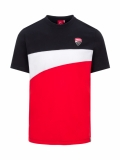 Ducati Corse T-Shirt schwarz/weiss/rot