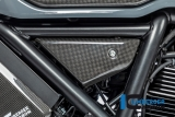 Carbon Ilmberger Abdeckung unterm Rahmen Set Ducati Scrambler 1100 Dark Pro