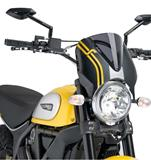 Puig Retro Scheibe carbonstyle Ducati Scrambler Full Throttle
