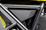Carbon Ilmberger Abdeckung unterm Rahmen Set Ducati Scrambler Café Racer