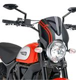Puig Retro Scheibe carbonstyle Ducati Scrambler Sixty 2