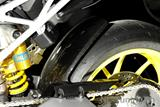 Carbon Ilmberger Kotflügel hinten Ducati Hypermotard 1100 Evo