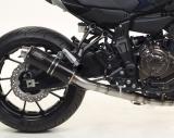 Auspuff Giannelli X-Pro Komplettanlage high version Yamaha Tracer 700