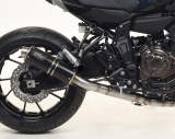 Auspuff Giannelli X-Pro Komplettanlage high version Yamaha MT-07