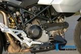 Carbon Ilmberger Auspuffhitzeschutz Seite Ducati Multistrada