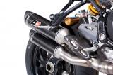 Auspuff QD Twin Carbon Ducati Monster 1200 R