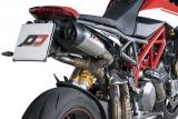 Auspuff QD Twin Titan Gunshot Ducati Hypermotard 950
