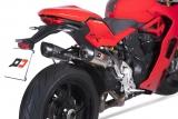 Auspuff QD Twin Titan Gunshot Ducati Supersport 939