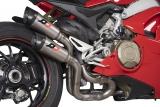 Auspuff QD Twin Titan Gunshot Ducati V4