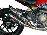 Auspuff QD Twin Carbon Ducati Monster 1200