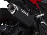 Auspuff Cobra CR2 Hexagon Black Series BMW F 900 XR